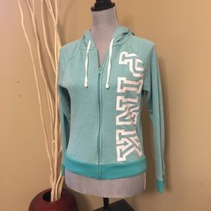 VS Pink full zip hoodie size XS